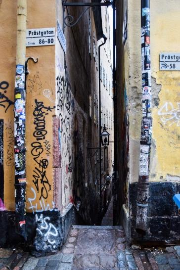 Stockholm's narrowest street
